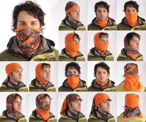 Cách sử dụng khăn đa năng buffhead