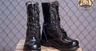 giày lính cao cổ